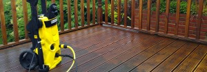 T&J painting solutions treating decking