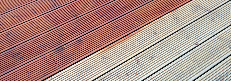 restoring decking with stain