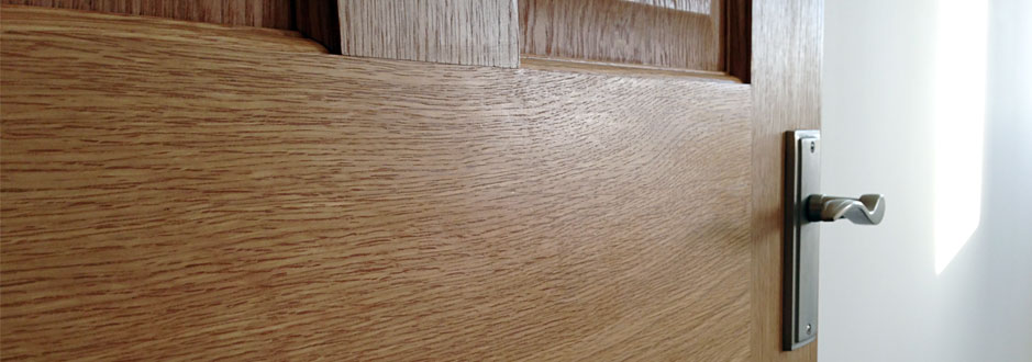 T&J painting solutions treated oak door