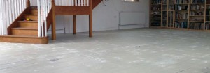 T&J Painting Solutions undercoating wooden floor