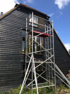 t&j painting solutions Gable end tower